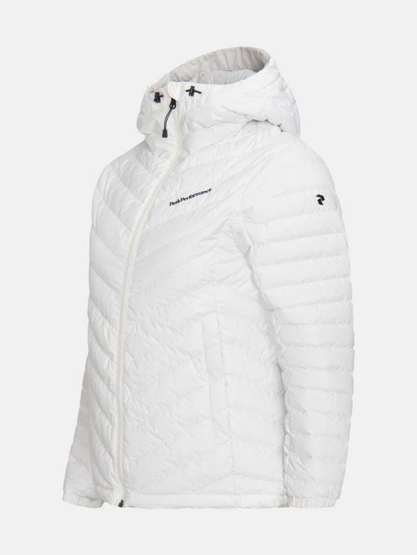 Peak Performance Frost Down Hood Jacket Women Offwhite