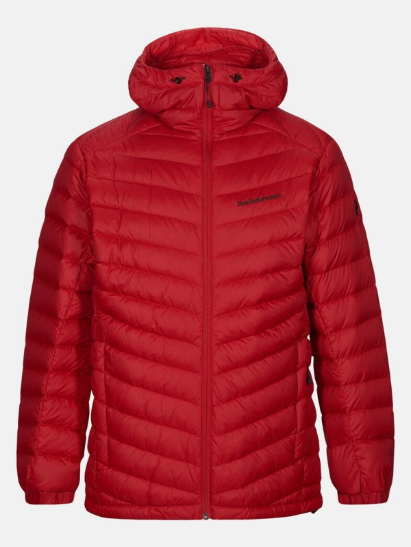 Peak Performance Frost Down Hood Jacket Men The Alpine