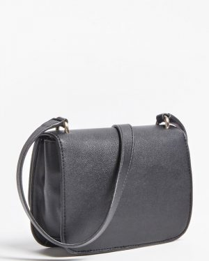 Guess Noelle Mini Crossbody Bag Black