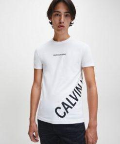 Calvin Klein Stretch Logo T-shirt Bright White