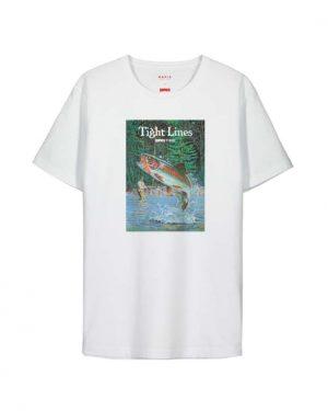 Makia x Rapala Kneedeep T-shirt White