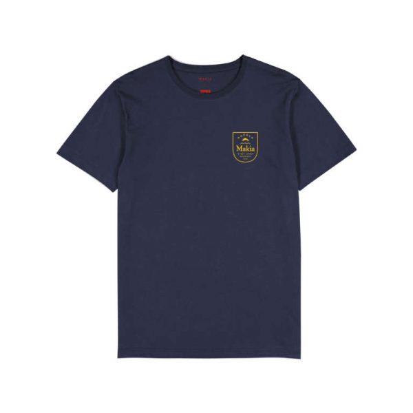 Makia x Rapala Angler T-shirt Dark Navy