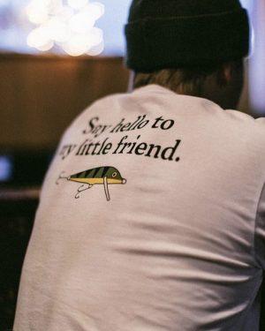 Makia x Rapala Friend T-shirt White