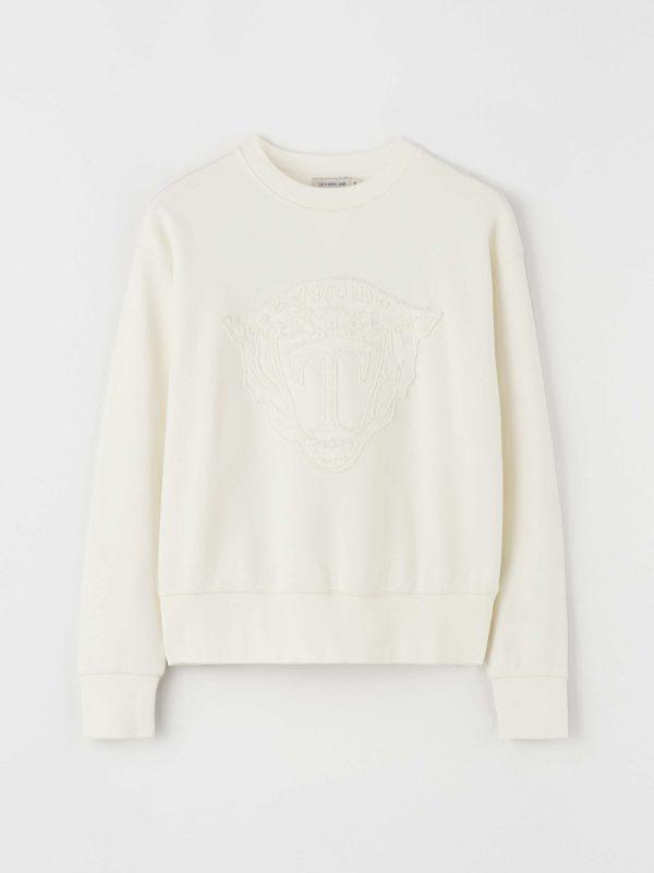 Tiger Jeans Noalla Sweatshirt White Light