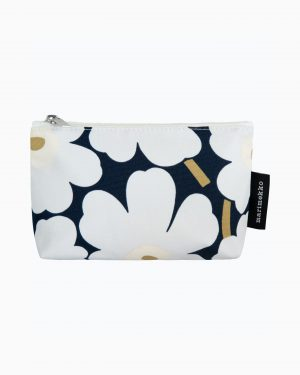 Marimekko Eelia Mini Unikko Cosmetic Bag Blue
