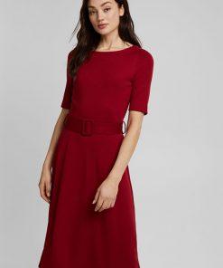 Esprit Dress Dark Red