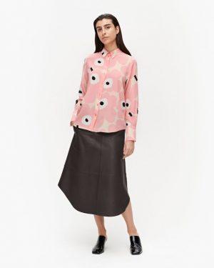 Marimekko Toiveikas Pieni Unikko Shirt Beige/Pink