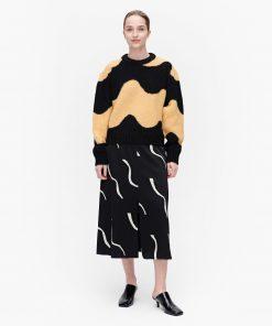 Marimekko Disjunktio Lokki Pullover Black