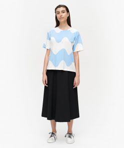 Marimekko Determinantti Lokki T-shirt White
