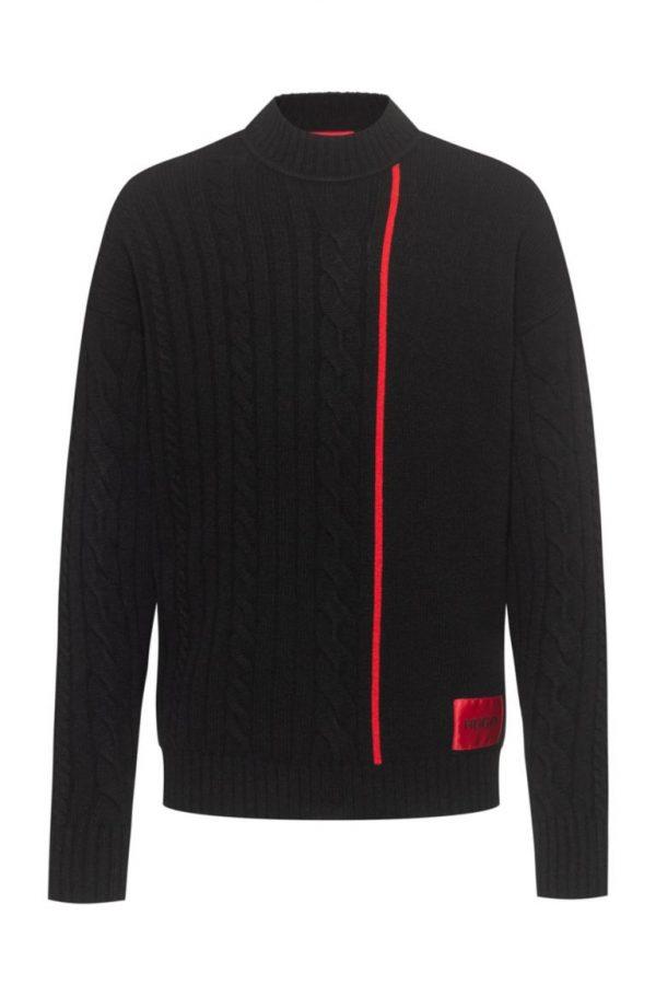 Hugo Boss Scablo Sweater Black