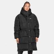 Fila Tender Long Puffer Jacket Black
