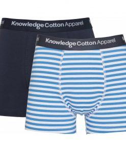Knowledge Cotton Apparel Maple 2 Pack Underwear Bright White