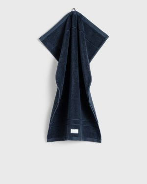 Gant Home Organic Premium Towel Sateen Blue 50 x 70 cm
