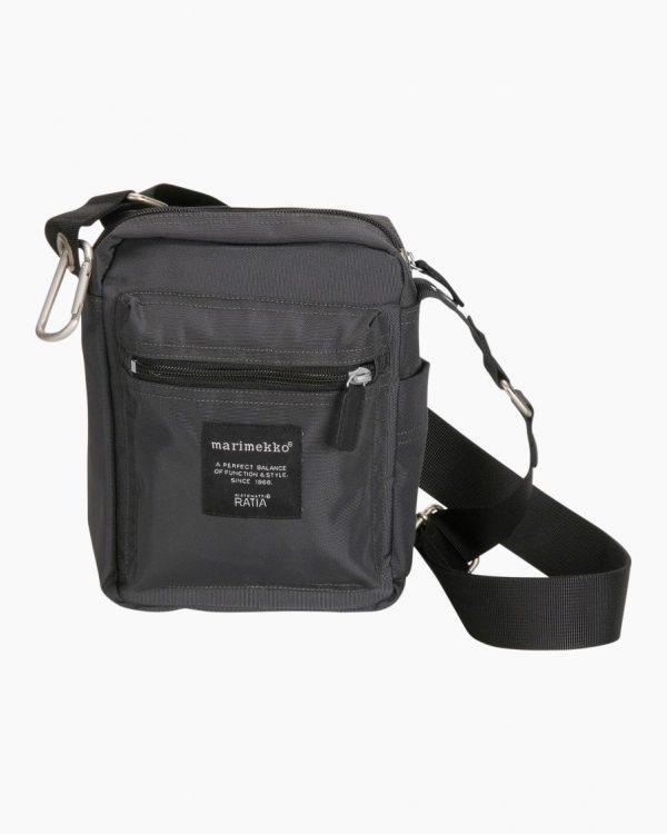 Marimekko Cash & Carry Bag Dark Grey