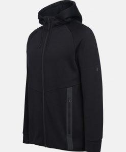 Peak Performance Tech Zip Hood Men Black
