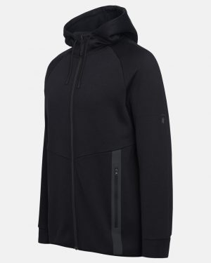 Peak Performance Tech Zip Hood Men Black