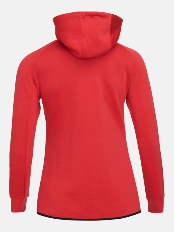 Peak Performance Tech Zip Hood Women The Alpine