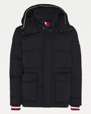 Tommy Hilfiger Down Hooded Jacket Black