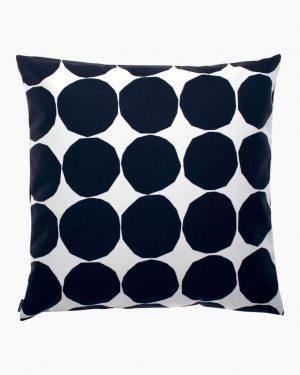 Marimekko Pienet Kivet 50 x 50 cm Black/White