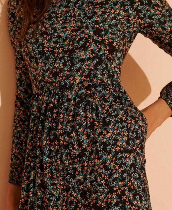 Superdry Skylar Maxi Dress Autumn Daisy