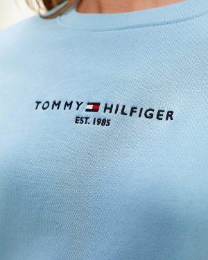 Tommy Hilfiger Essentials Pure Cotton Sweatshirt Columbia Blue