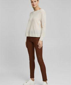 Esprit Wool-Mix Sweater Off White