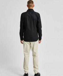 Selected Homme New Mark Slim Fit Shirt Black