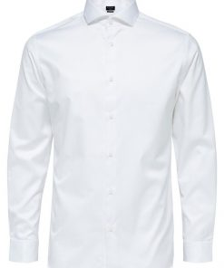 Selected Homme Slim Fit Shirt White