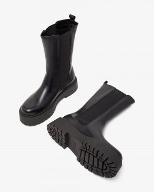 Bianco Biadeb Long Boots Black