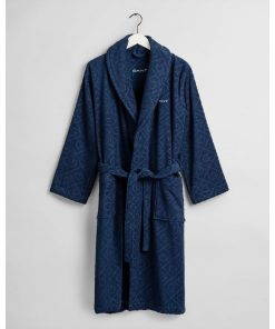 Gant Home Organic G Robe Yankee Blue