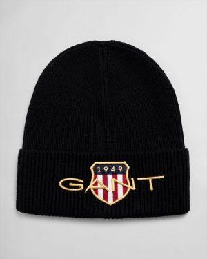 Gant Archive Shield Beanie Black