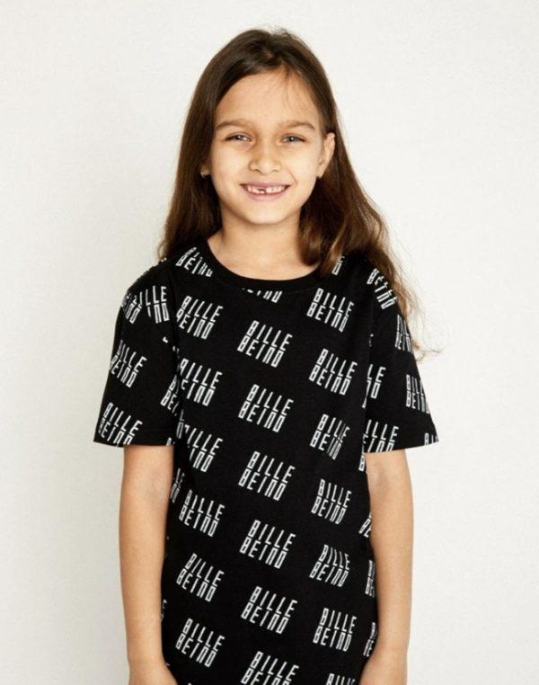 Billebeino Kids Allover T-shirt Black
