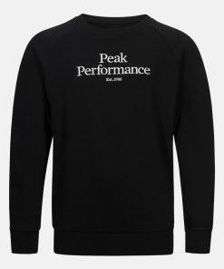Peak Performance Junior Original Crew Neck Black