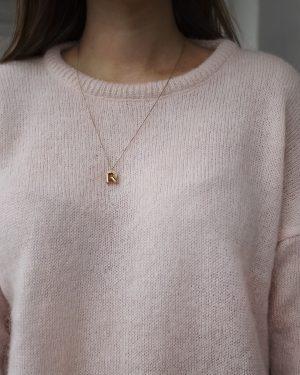 Pura Mohair Knit Pink