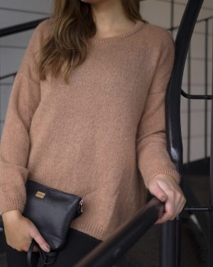 Pura Mohair Knit Toffee