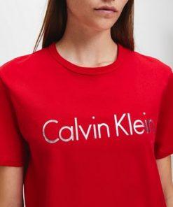 Calvin Klein Underwear T-shirt Red Gala Punainen