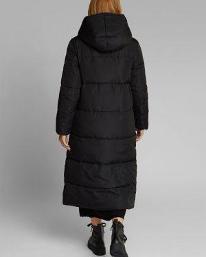 Esprit Long Padded Coat Black