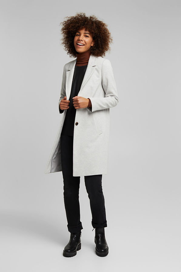 Esprit Jacket Light Grey
