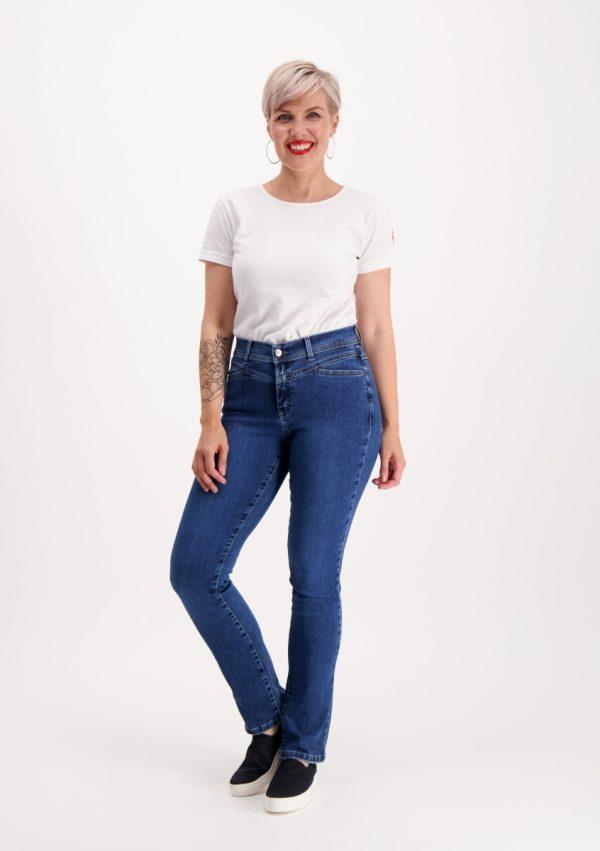 Very Nice Pirre Straight Jeans Denim Blue