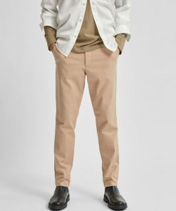 Selected Homme Linen Pants Cornstalk