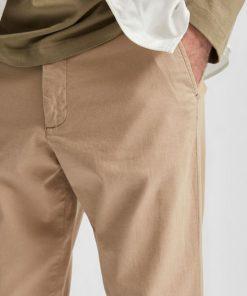 Selected Homme Linen Pants Cornstalk