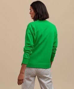 Gant Crest 1949 Sweater Fern Green