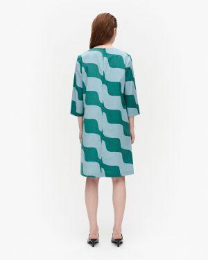 Marimekko Olkoon Taifuuni Dress Blue