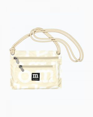 Marimekko Smart Travel Logo Bag Beige