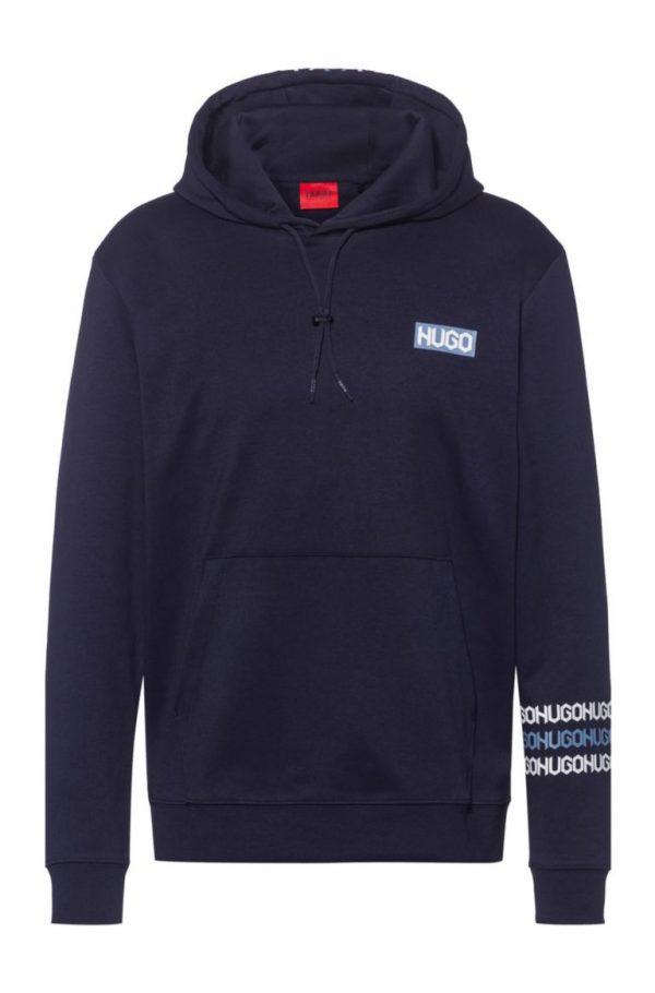 Hugo Boss Dozzi Hooded Sweatshirt Dark Blue