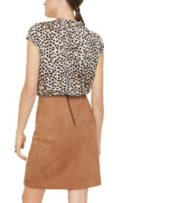Comma, Blouse Top Brown