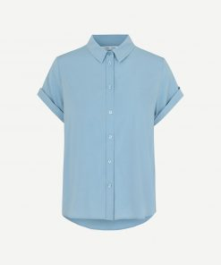 Samsoe&Samsoe Majan Shirt Dusty Blue