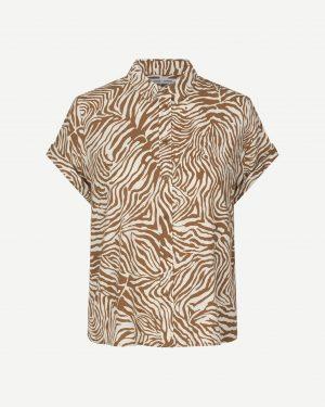 Samsoe&Samsoe Majan Shirt Mountain Zebra