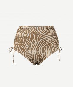 Samsoe & Samsoe Gytea Bikini Bottom Mountain Zebra