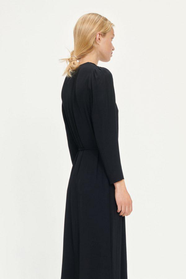 Samsoe & Samsoe Britt Wrap Dress Black